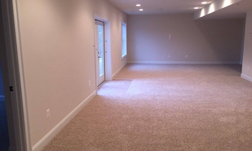 Custom Home in Timonium basement 2