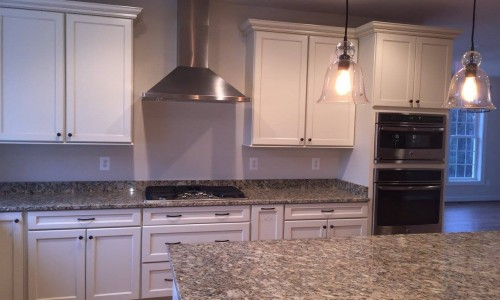Custom Home in Timonium kitchen stove