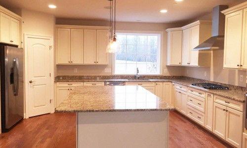 Custom Home in Timonium kitchen view