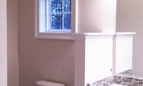 Custom Home in Timonium bathroom window