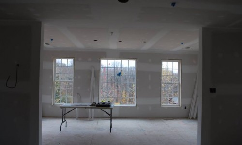 Worthington Valley, custom build home, floor