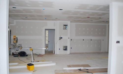 Worthington Valley, custom build home, walls