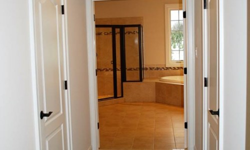 Custom Home, Sonoma in Carroll County bathroom hall