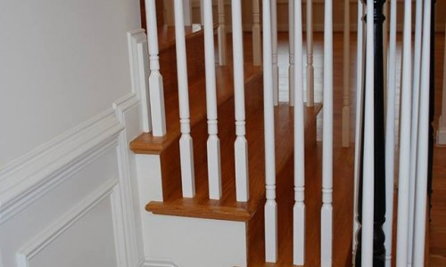 Custom Home, Sonoma in Carroll County stairs