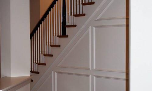 Custom Sonoma in Carroll County Kitchen Stairway