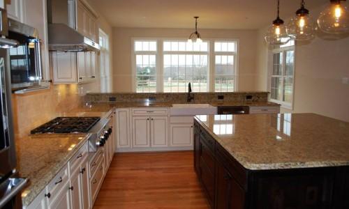 Custom Sonoma in Carroll County Kitchen view
