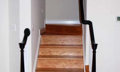 Custom Sonoma in Carroll County Staircase