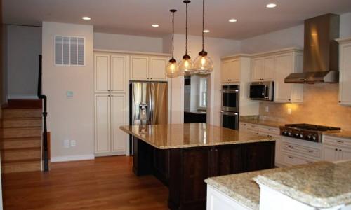 Custom Home, Sonoma, in Carroll County Kitchen