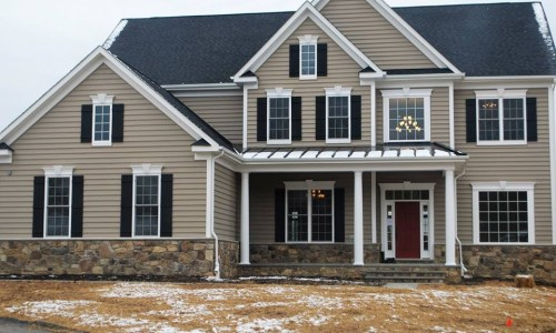 Custom Home, Sonoma, in Carroll County