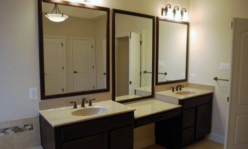 Custom Home, Sonoma in Carroll County Vanity