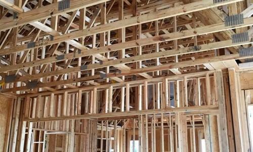 Worthington Valley, custom home, construction 2