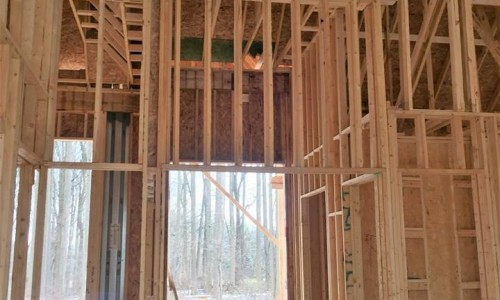 Worthington Valley, custom home, construction 6