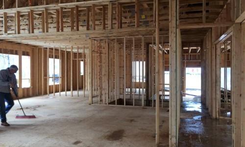 Worthington Valley, custom home, construction 7