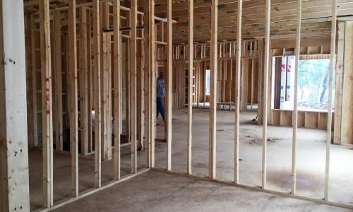 Worthington Valley, custom home, construction 11