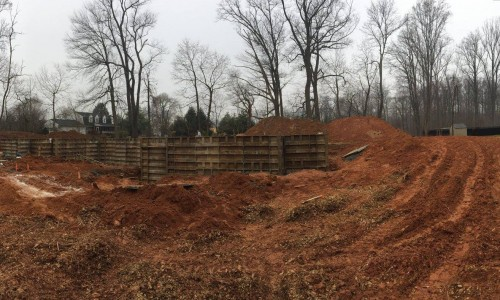 Worthington Valley, custom home, foundation 2