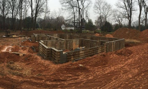 Worthington Valley, custom build, foundation 5