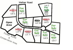 Plat Oak Grove Farm Lots for sale